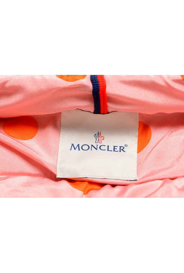 """Moncler Women's """"CARDERE"""" Pink 100% Wool Down Parka Jacket: Picture 8"""