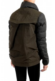 "Moncler Women's ""SEI"" Gray 100% Wool Down Parka Jacket: Picture 4"