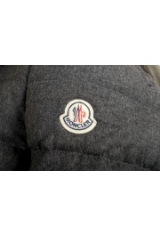 "Moncler Women's ""SEI"" Gray 100% Wool Down Parka Jacket: Picture 5"