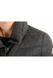 "Moncler Women's ""SEI"" Gray 100% Wool Down Parka Jacket: Picture 6"
