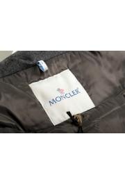 "Moncler Women's ""SEI"" Gray 100% Wool Down Parka Jacket: Picture 7"