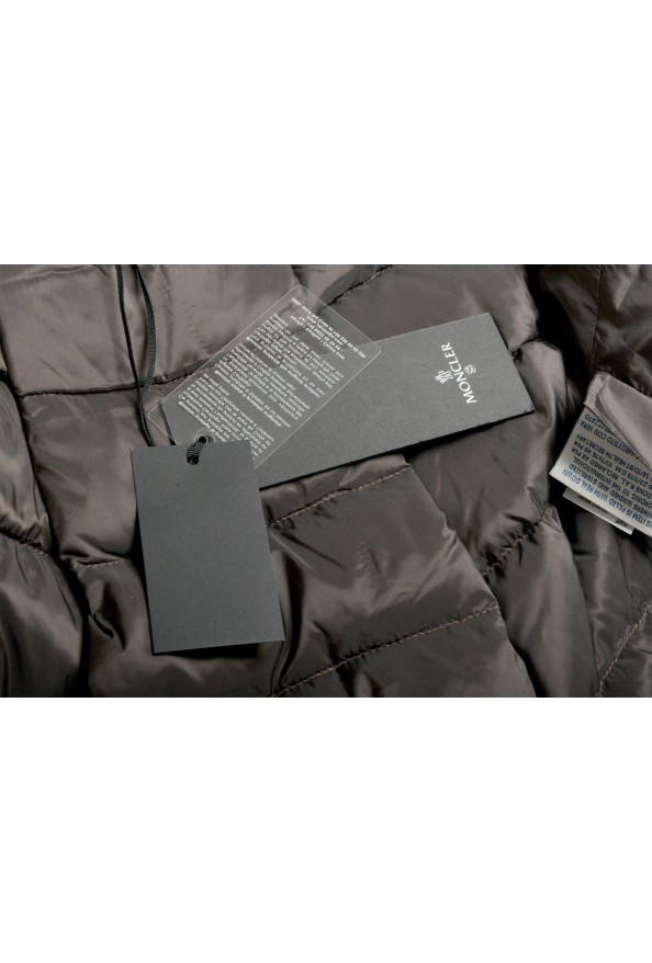 "Moncler Women's ""SEI"" Gray 100% Wool Down Parka Jacket: Picture 8"