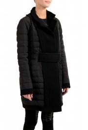 "Moncler Women's ""ATTITUDE"" Black Belted Down Parka Jacket Coat : Picture 2"