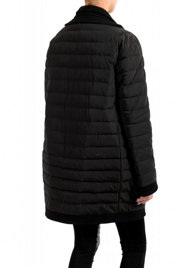 "Moncler Women's ""ATTITUDE"" Black Belted Down Parka Jacket Coat : Picture 3"