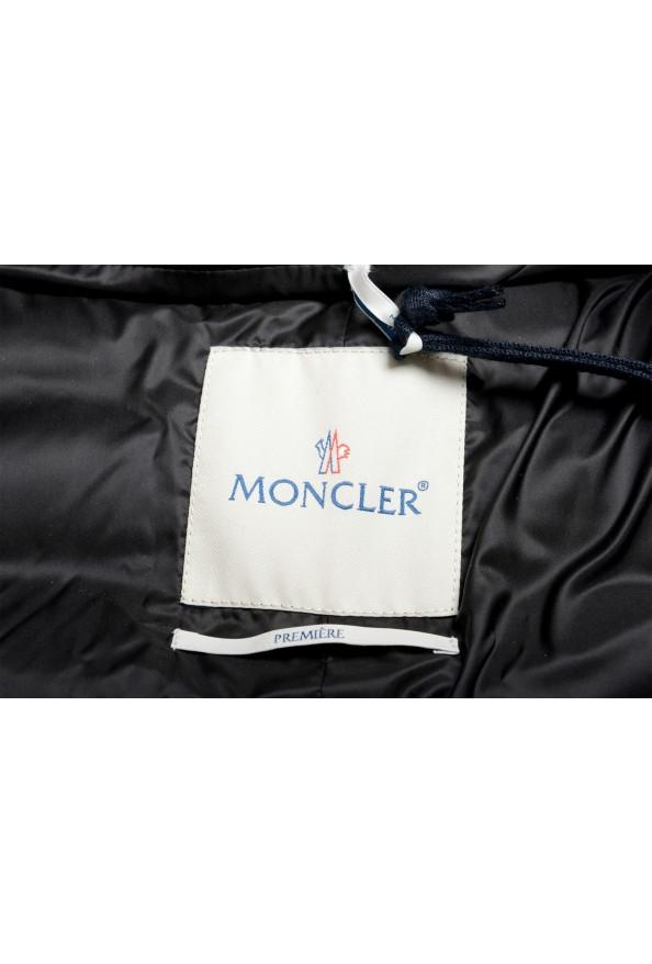 "Moncler Women's ""ATTITUDE"" Black Belted Down Parka Jacket Coat : Picture 5"