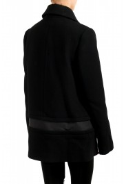 """Moncler Women's """"CAPPOTTO"""" Black 100% Wool Down Insulated Coat : Picture 3"""