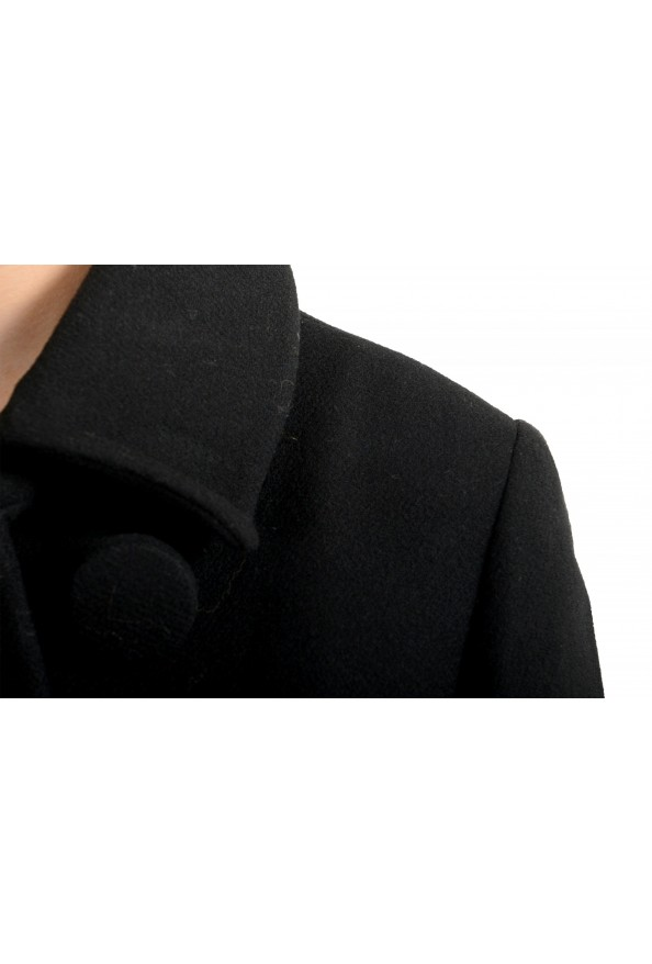 """Moncler Women's """"CAPPOTTO"""" Black 100% Wool Down Insulated Coat : Picture 5"""