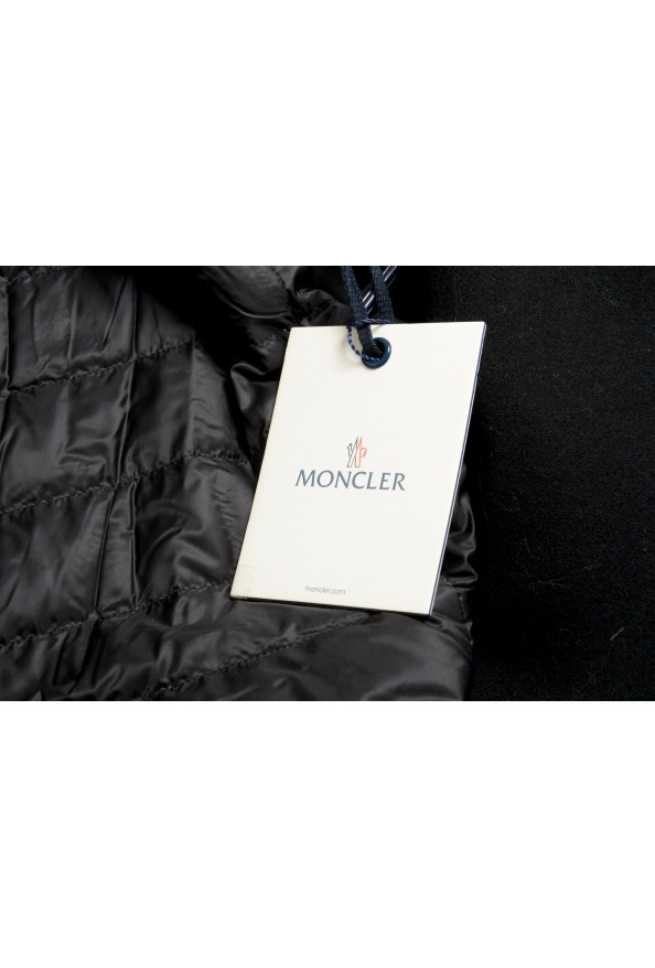 """Moncler Women's """"CAPPOTTO"""" Black 100% Wool Down Insulated Coat : Picture 7"""