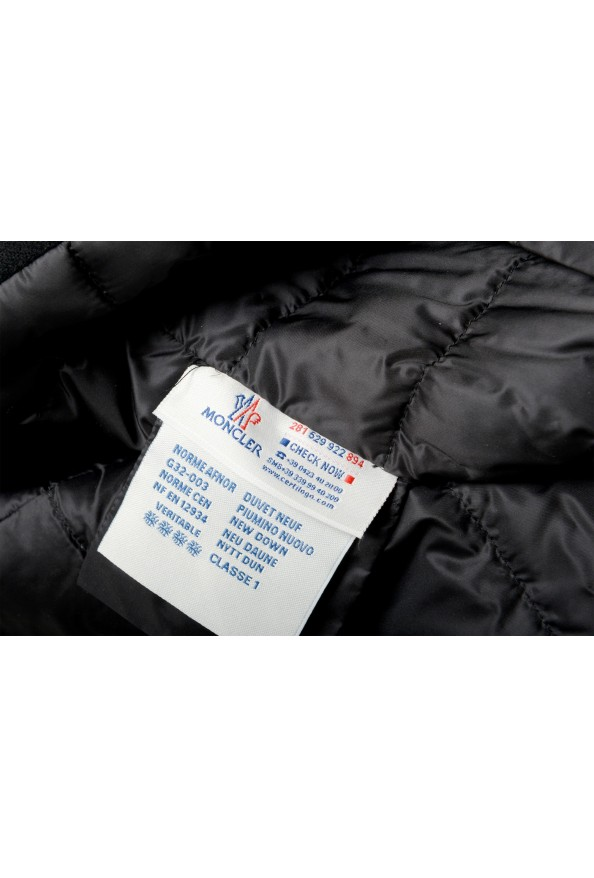 """Moncler Women's """"CAPPOTTO"""" Black 100% Wool Down Insulated Coat : Picture 8"""