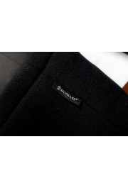 """Moncler Women's """"CAPPOTTO"""" Black 100% Wool Down Insulated Coat : Picture 9"""