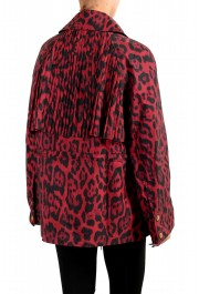 Just Cavalli Women's Animal Print Double Breasted Trench Coat Jacket : Picture 3