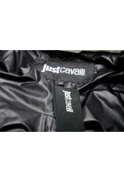 Just Cavalli Women's Multi-Color Logo Print Hooded Parka Jacket: Picture 6