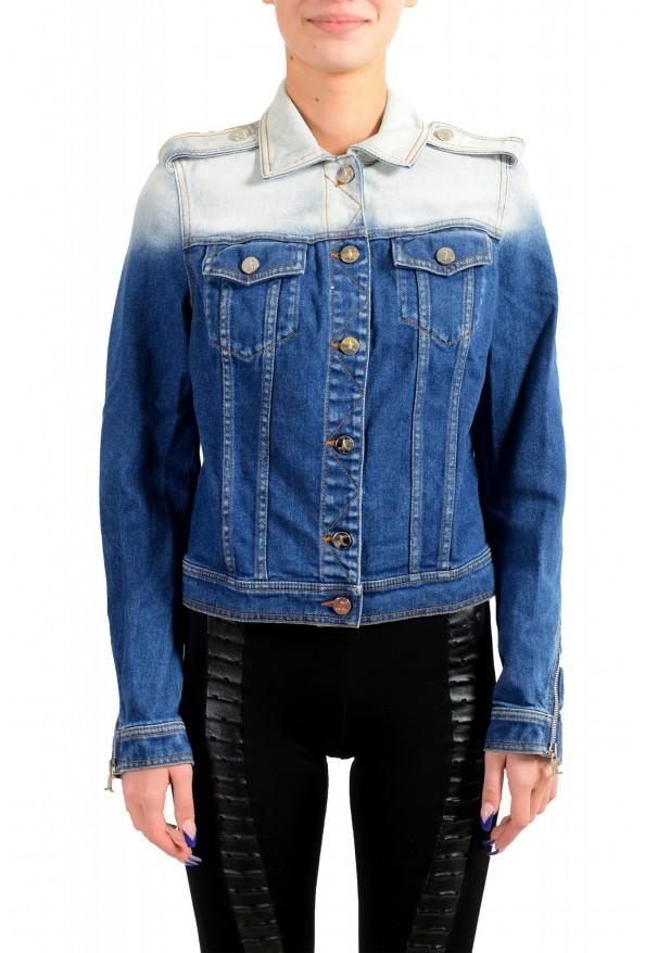 Just Cavalli Women's Denim Button Down Jacket