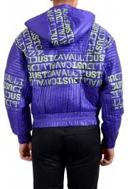 Just Cavalli Men's Logo Print Hooded Full Zip Parka Jacket: Picture 3