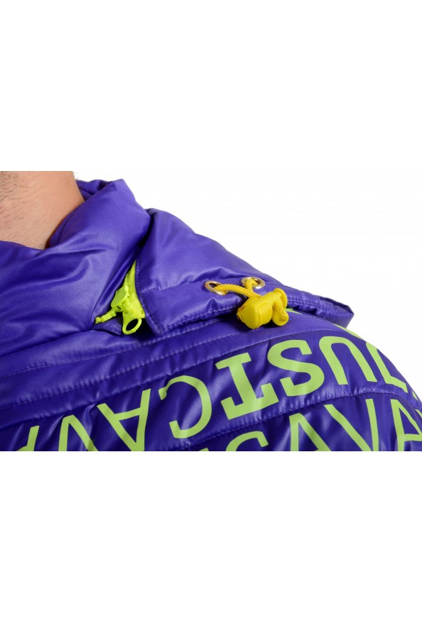 Just Cavalli Men's Logo Print Hooded Full Zip Parka Jacket: Picture 4