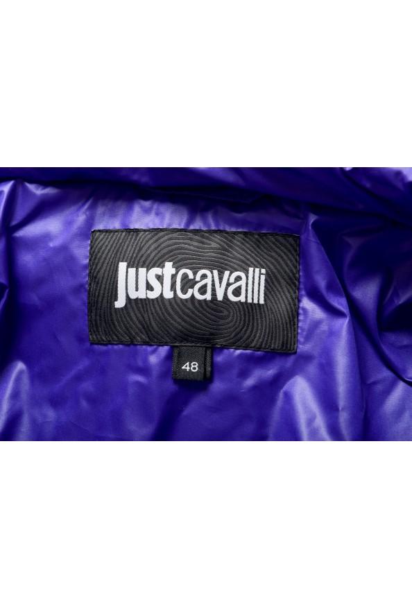 Just Cavalli Men's Logo Print Hooded Full Zip Parka Jacket: Picture 6