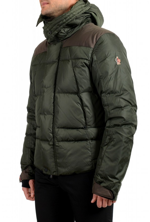 """Moncler Men's """"DURAND"""" Hooded Full Zip Down Parka Jacket : Picture 4"""