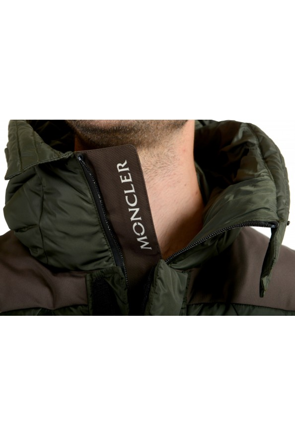 """Moncler Men's """"DURAND"""" Hooded Full Zip Down Parka Jacket : Picture 6"""