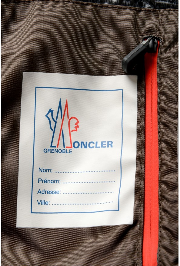"""Moncler Men's """"CHASSERON"""" Hooded Full Zip Down Parka Jacket: Picture 10"""