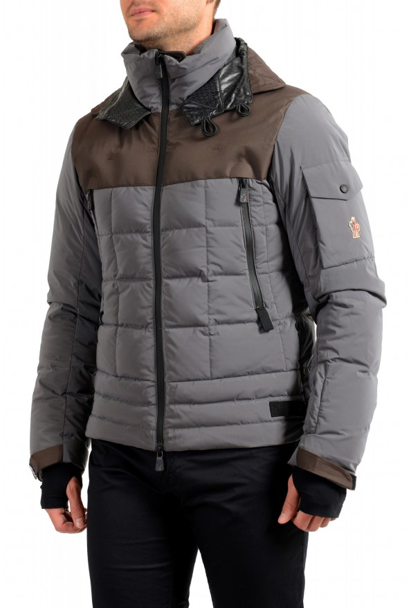 """Moncler Men's """"CHASSERON"""" Hooded Full Zip Down Parka Jacket: Picture 3"""