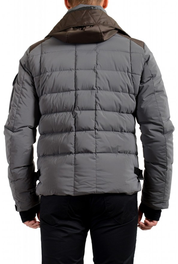 """Moncler Men's """"CHASSERON"""" Hooded Full Zip Down Parka Jacket: Picture 4"""