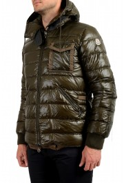 """Moncler Men's """"ARTHUR"""" Hooded Reversible Down Parka Jacket: Picture 4"""
