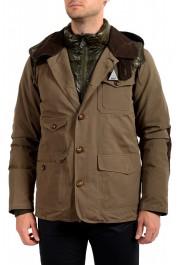 """Moncler Men's """"ARTHUR"""" Hooded Reversible Down Parka Jacket: Picture 7"""