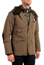 """Moncler Men's """"ARTHUR"""" Hooded Reversible Down Parka Jacket: Picture 8"""