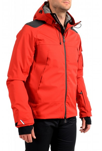 """Moncler Men's """"FOUX"""" Hooded Red Full Zip Down Parka Jacket: Picture 2"""