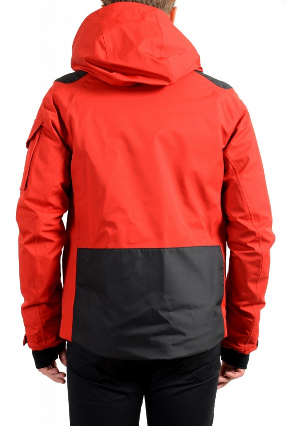 """Moncler Men's """"FOUX"""" Hooded Red Full Zip Down Parka Jacket: Picture 4"""