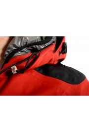 """Moncler Men's """"FOUX"""" Hooded Red Full Zip Down Parka Jacket: Picture 5"""