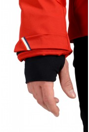"""Moncler Men's """"FOUX"""" Hooded Red Full Zip Down Parka Jacket: Picture 7"""