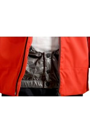 """Moncler Men's """"FOUX"""" Hooded Red Full Zip Down Parka Jacket: Picture 8"""