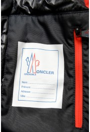 """Moncler Men's """"FOUX"""" Hooded Red Full Zip Down Parka Jacket: Picture 9"""