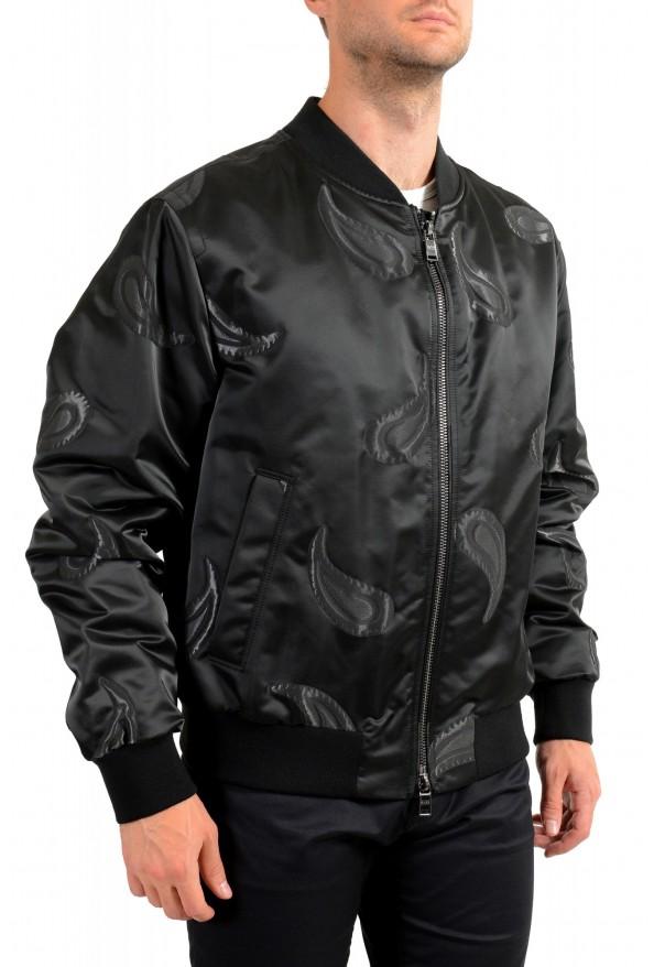 """Hugo Boss Men's """"Chanton"""" Black Full Zip Windbreaker Jacket Coat: Picture 2"""