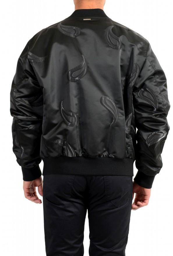 """Hugo Boss Men's """"Chanton"""" Black Full Zip Windbreaker Jacket Coat: Picture 3"""