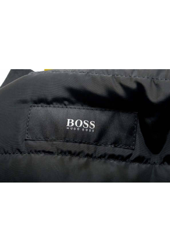 """Hugo Boss Men's """"Chanton"""" Black Full Zip Windbreaker Jacket Coat: Picture 5"""