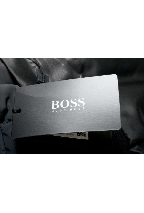 """Hugo Boss Men's """"Chanton"""" Black Full Zip Windbreaker Jacket Coat: Picture 6"""