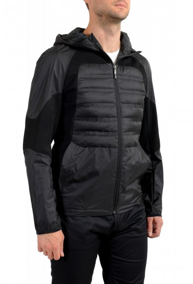 "Hugo Boss Men's ""J_Briscas"" Black Full Zip Windbreaker Jacket: Picture 2"