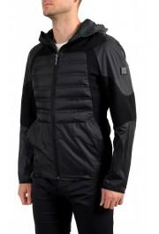 "Hugo Boss Men's ""J_Briscas"" Black Full Zip Windbreaker Jacket: Picture 3"