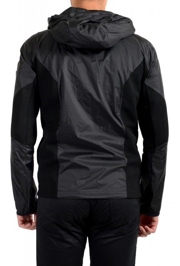 "Hugo Boss Men's ""J_Briscas"" Black Full Zip Windbreaker Jacket: Picture 4"