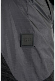 "Hugo Boss Men's ""J_Briscas"" Black Full Zip Windbreaker Jacket: Picture 6"