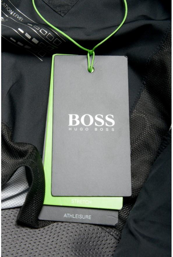 "Hugo Boss Men's ""J_Briscas"" Black Full Zip Windbreaker Jacket: Picture 8"