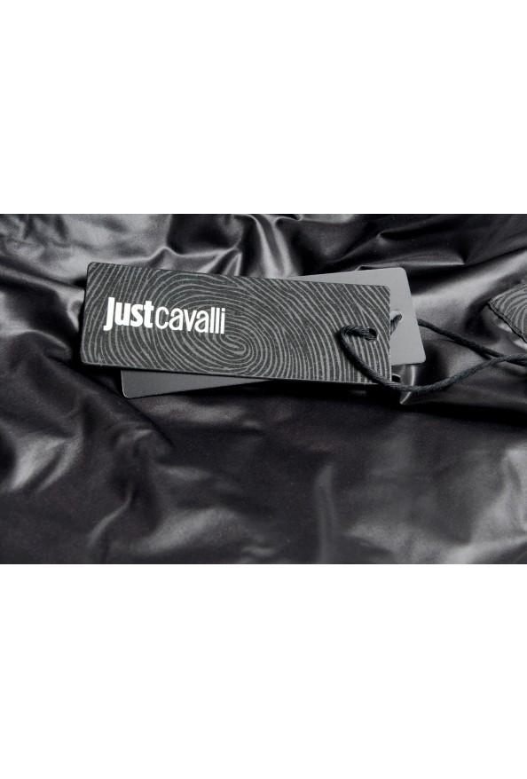 Just Cavalli Men's Black Full Zip Insulated Bomber Jacket: Picture 6