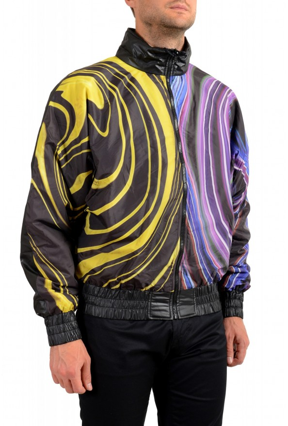 Just Cavalli Men's Multi-Color Full Zip Insulated Bomber Jacket : Picture 2