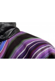 Just Cavalli Men's Multi-Color Full Zip Insulated Bomber Jacket : Picture 4