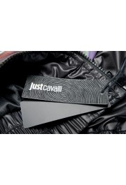 Just Cavalli Men's Multi-Color Full Zip Insulated Bomber Jacket : Picture 6