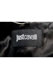 Just Cavalli Men's Embellished Black One Button Sport Coat Blazer : Picture 6