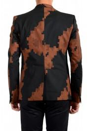 Just Cavalli Men's Multi-Color Wool One Button Sport Coat Blazer : Picture 3