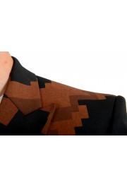 Just Cavalli Men's Multi-Color Wool One Button Sport Coat Blazer : Picture 5